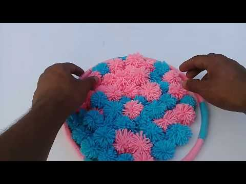 DIY Wall Hanging out of Woolen | How to Make Woolen Wall Hanging | Woolen Craft Ideas