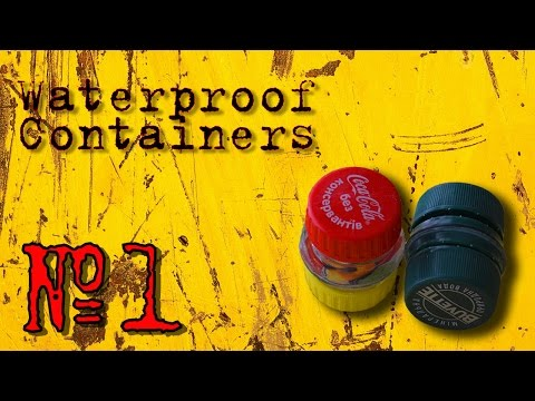 How to Make The Waterproof Container of Plastic Bottles #1