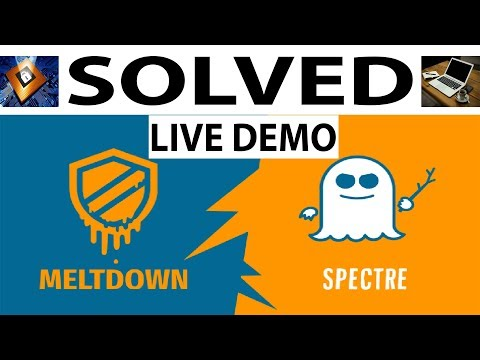 [100% SOLVED] Meltdown & Spectre Vulnerabilities in Intel Processor Computer   Most PC Affected