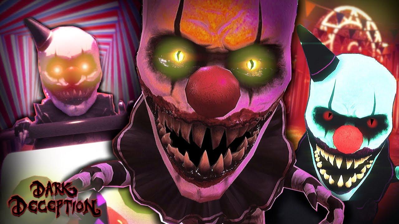 Clown Gremlins Guard New Secrets || Dark Deception: Enhanced #4 (Playthrough)
