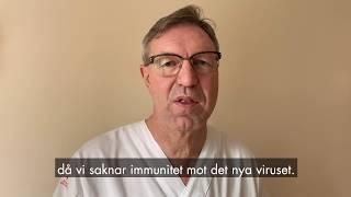 Smittskyddsläkare Anders Lindblom om det nya coronaviruset