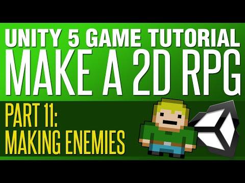 Unity RPG Tutorial #11 - Making Enemies