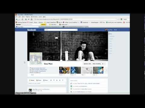 Facebook New Profile Option - Cover Photo (720p HD)