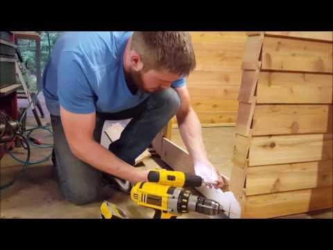 Building a pool filter/equipment enclosure