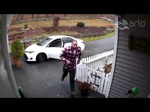 Caught on Arlo: Don't Steal From the Police
