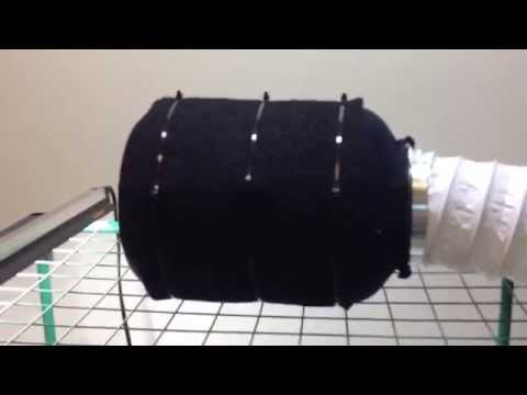 How To Make A Cheap Carbon Air Filter for Growing Cannabis DIY