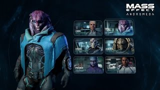 MASS EFFECT: ANDROMEDA | Combat Profiles & Squads | Official Gameplay Series - Part 2