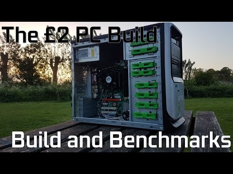 The £2 PC Build // Cleaning, Construction, and Comprehensive
