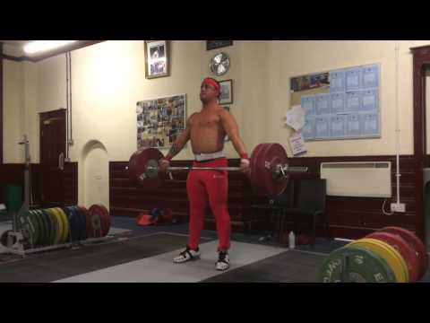 Sonny Webster weightlifting Training video 14/10/14