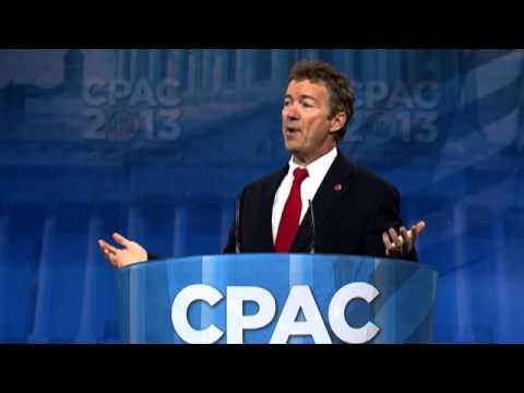 CPAC 2013 - U.S. Senator Rand Paul (R-KY)