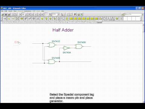 Subcircuits from Schematics (Creating and testing subcircuits made from schematic diagrams)