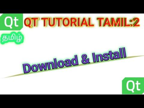 2.How To download and install qt?