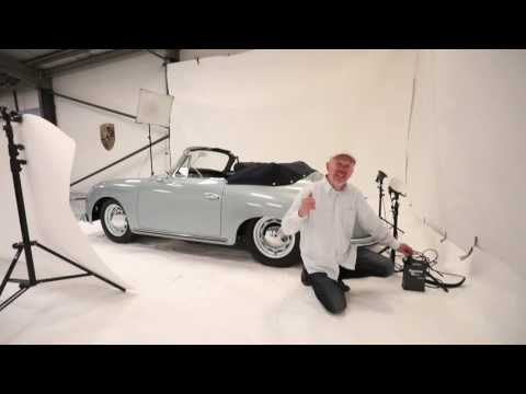 How to Photograph Cars .Location car studio lighting cars with flash indoors
