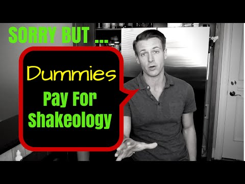Dummies Pay for Shakeology - How to Get Free Shakeology