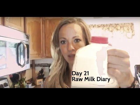 Day 21 Raw Milk Diary