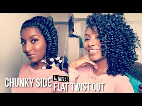 Chunky Side Twist Out | ASIAM Long & Luxe Review + Demo!