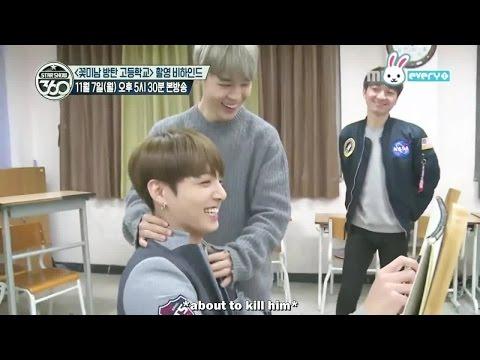 [ENG] Flower Boys Bangtan High School making film 지민 & 정국 JM & JK cut