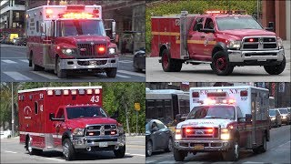 Ambulances and EMS responding - BEST OF 2018