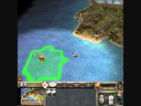 Medieval 2: Total War - How to get to America