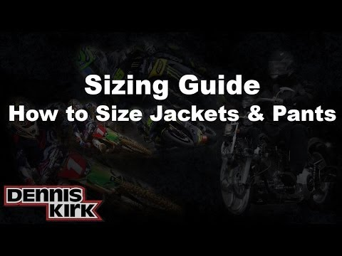 How To Measure - Jackets/Shirts/Pants/Suits