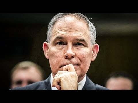 Scott Pruitt May Be Suffering From Paranoid Psychosis