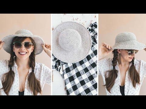 Crochet June Sun Hat