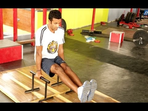HINDI: How to Strengthen Your Core with Planks and Leg Raises