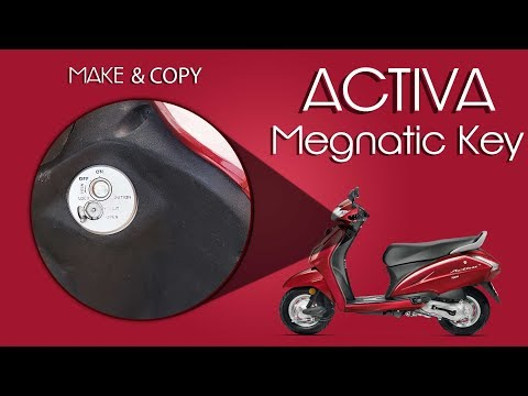 Activa Magnetic Key Making (Lost or Copy case)