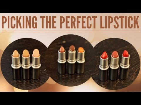 Beauty 101: Choosing your Perfect Lipstick