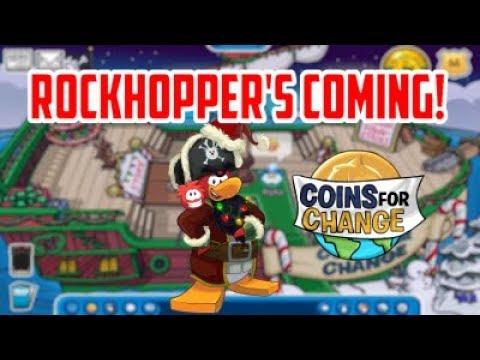 Club Penguin Rewritten: Rockhopper is coming!