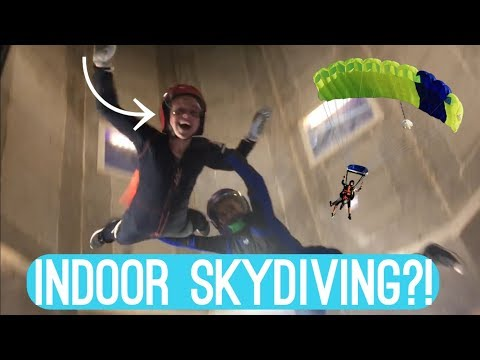 INDOOR SKYDIVING!!!  Vlog   Maya's Diy Channel