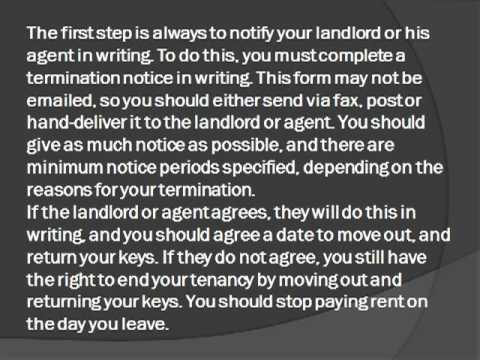 Breaking it Gently: Tips for Early Termination of a Rental Agreement
