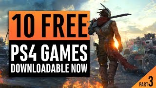 10 Free PlayStation 4 Games You Can Download Right Now! Part 3