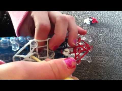 How to Make: Rainbow Loom Pokéball Charm