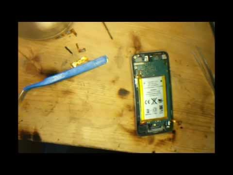 How to replace a ipod touch 4th Gen power volume ribbon cable
