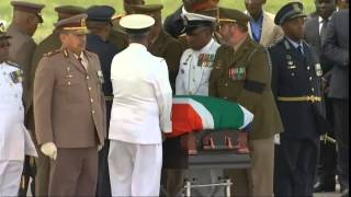 Nelson Mandela's final journey to Qunu