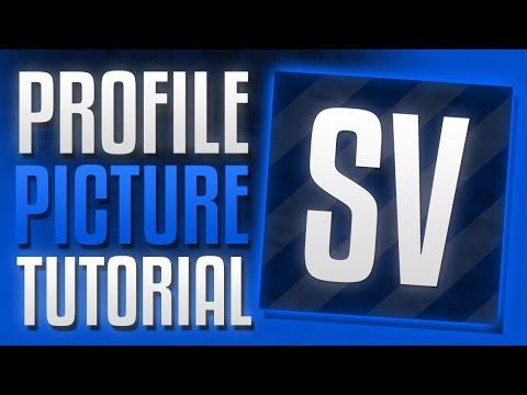 How to Make A Profile Picture for Youtube with Photoshop 2015/2016 (Tutorial)