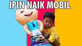 Balon Karakter Ipin Naik Mobil Mobilan Om Telolet Om
