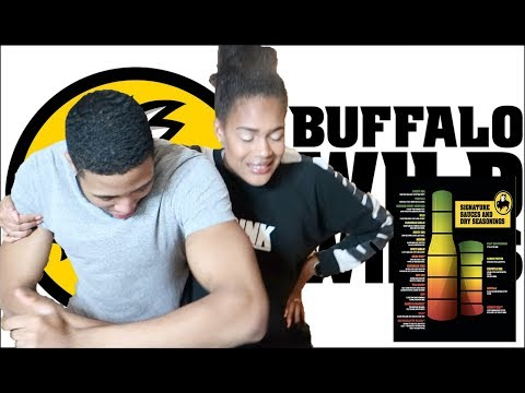 TRYING EVERY BUFFALO WILD WING SAUCE (GHOST PEPPER)