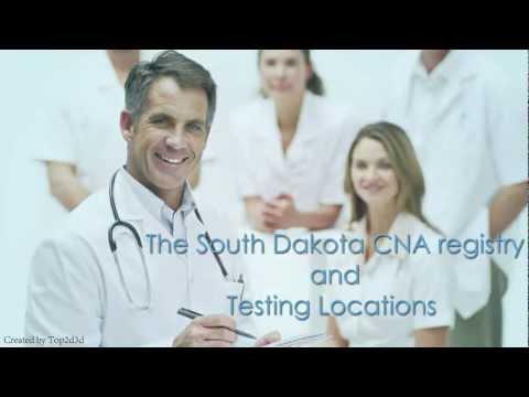 CNA Classes in South Dakota
