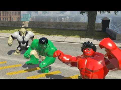 abomination vs red hulk (transformation) lego marvel super heroes