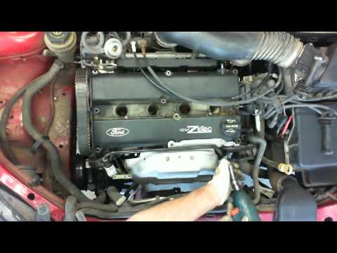 Ford Zetec 2.0 liter timing belt replacement Part I HD