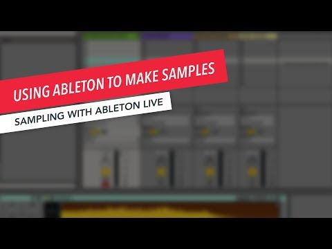 Sampling with Ableton Live: Creating Sampled Instrument Packs for Sharing