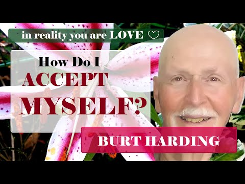 How do I accept myself?