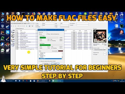 Make FLAC files the Easy Way