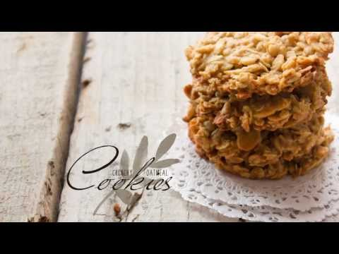 How to make a Crunchy Oatmeal Cookies