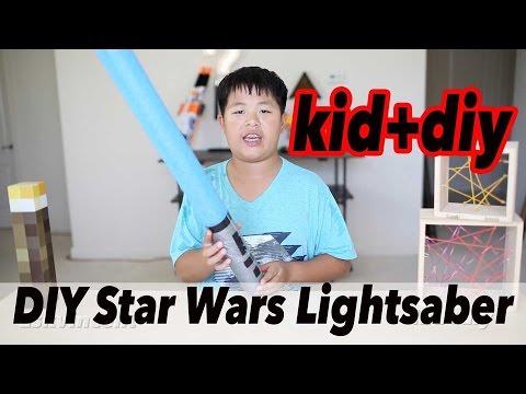 KID+DIY | EASY DIY Starwars Lightsaber | ASKVINCENT