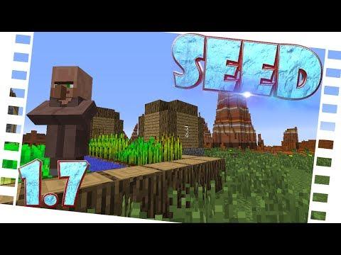 MC Seed 1.7.4   Mesa + Village [SPAWN] [DE-HD]