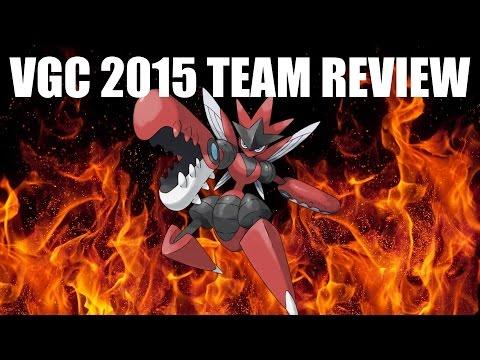 Pokemon Omega Ruby & Alpha Sapphire VGC 2015 Team Review - Mega Scizor