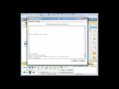 Configure Default Routes in Packet Tracer - Part4